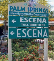 Sign for Escena development