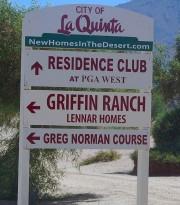 Griffin Ranch development sign