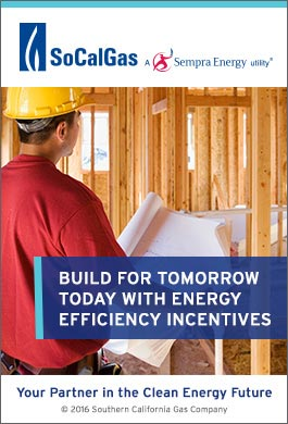 Build for tomorrow today with energy efficient incentives